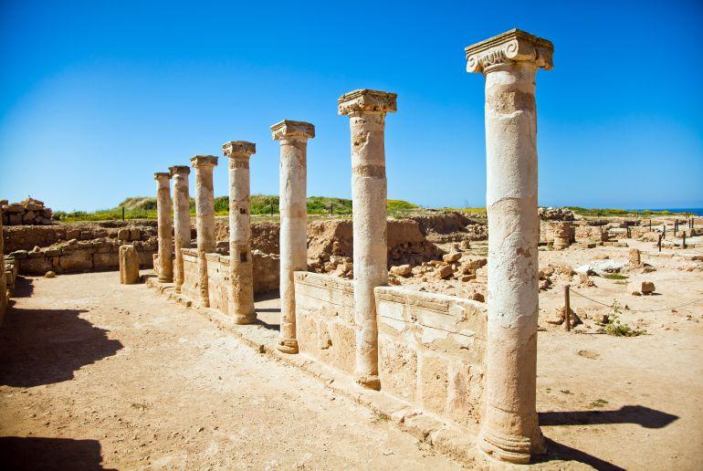 Übereste eines Tempels auf Zypern