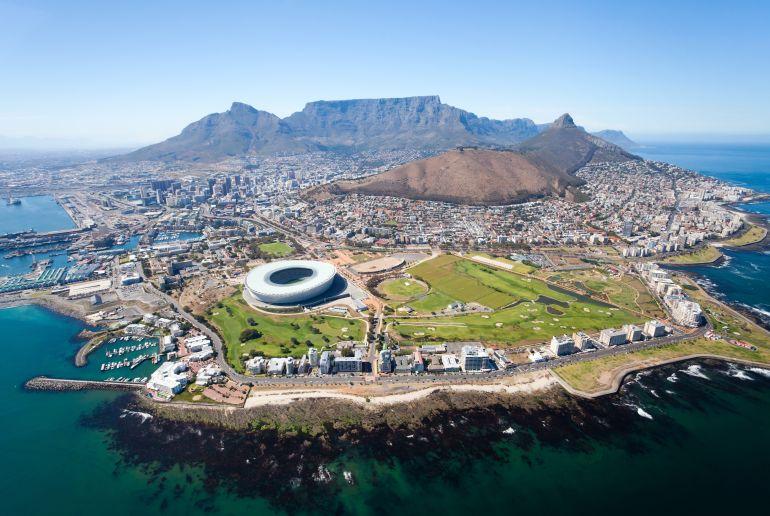 Stadtstrand in Kapstadt