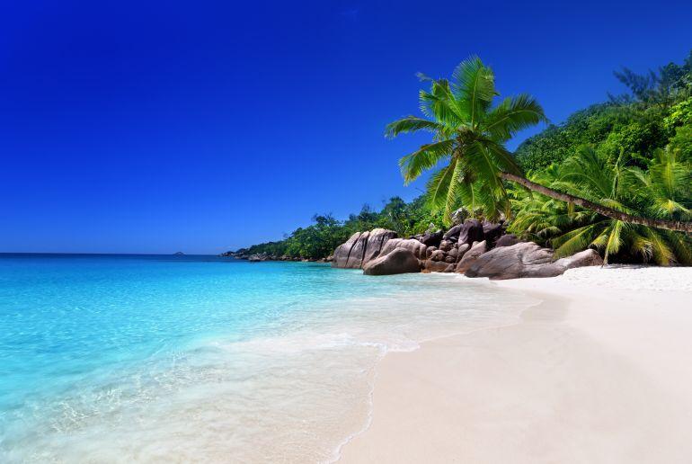 Strand auf den Syschellen