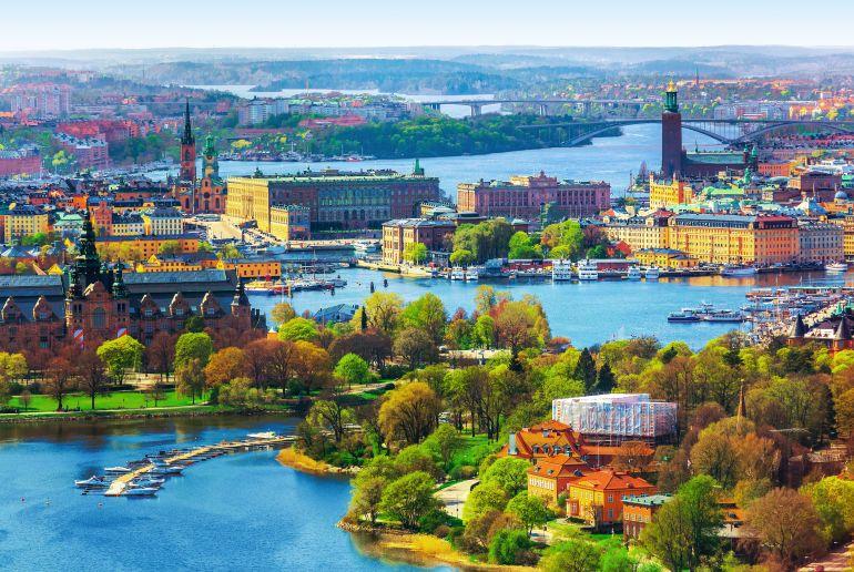 Stadt in Schweden