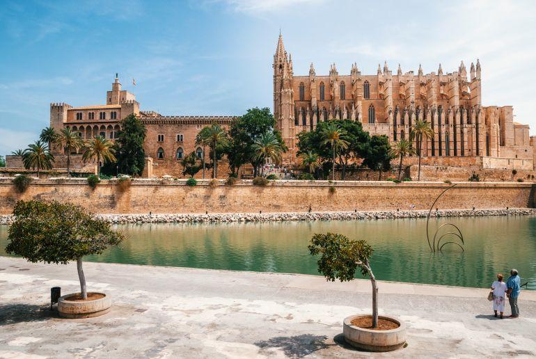 Königspalast l'Almudaina und Kathedrale von La Palma