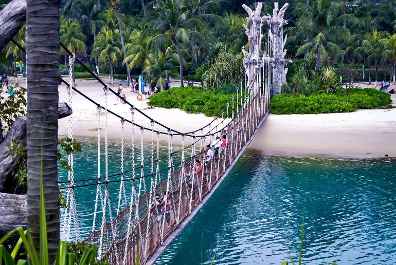 Siloso Strand Singapure