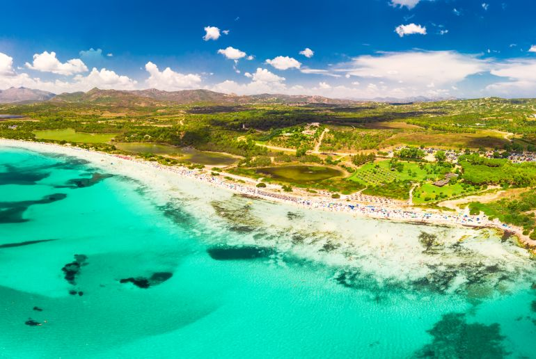 Cala Brandinchi, Sardinien