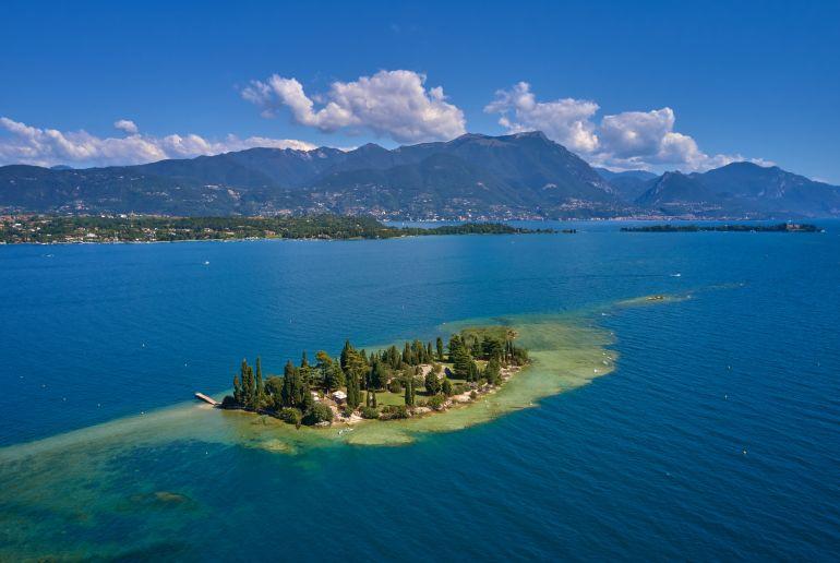 Gardasee Isola di San Biagio