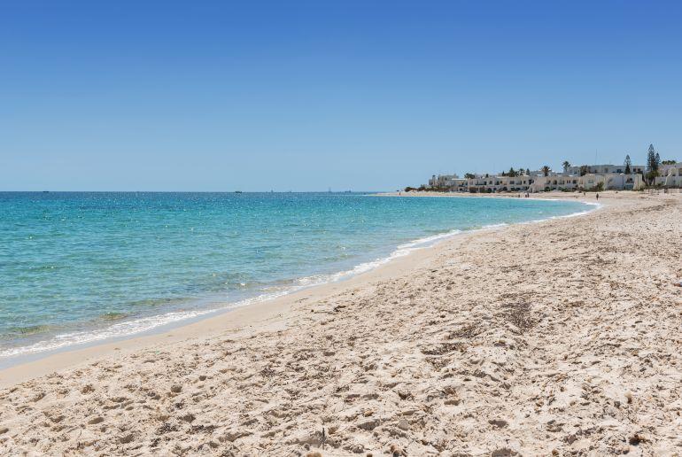 Chott Meriem Strand in Port El Kantaoui Tunesien