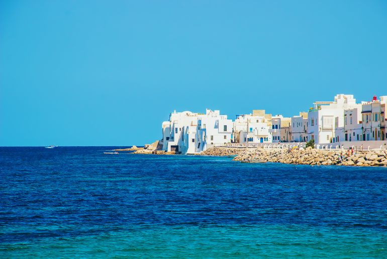 Strand Mahdia in Tunesien