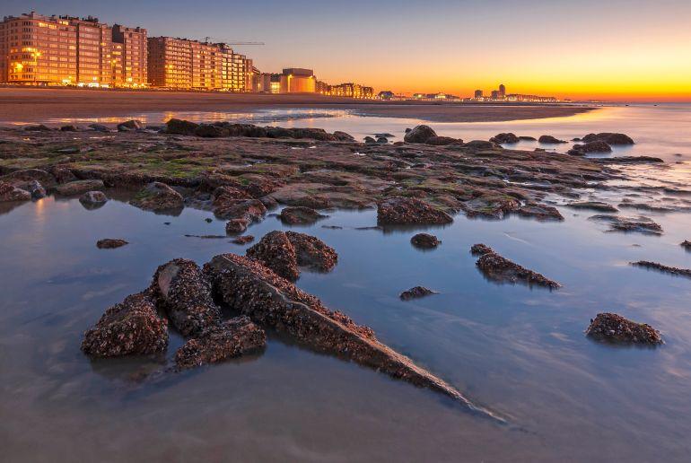 Belgien Strand Oostende