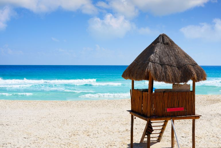 Strand Playa Marlín in Mexico