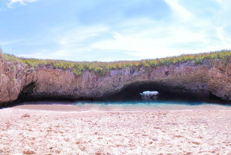 Strand Playa Escondida in Mexico