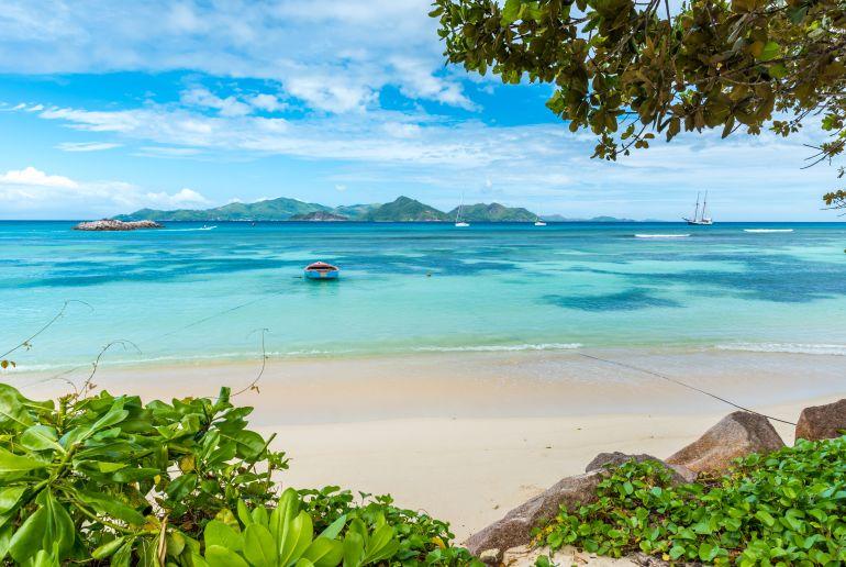 Strand Anse Reunion auf den Seychellen