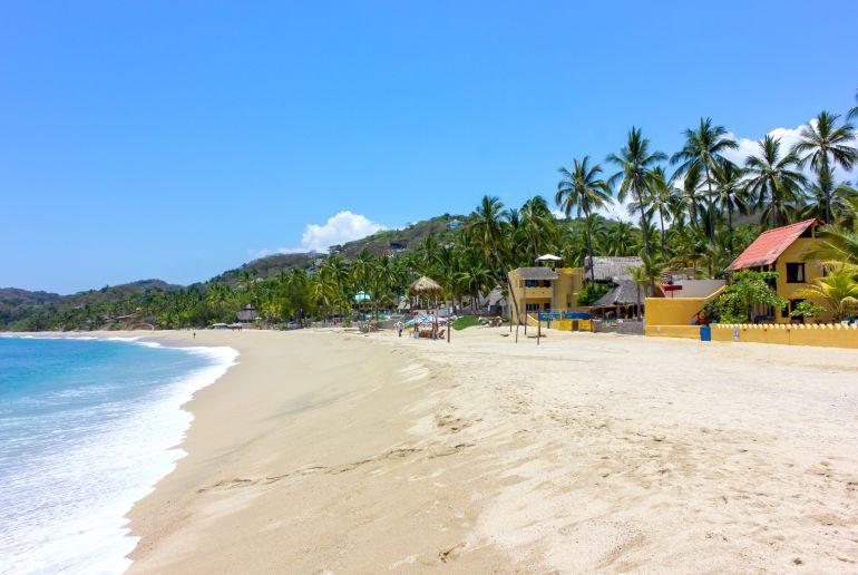 Strand Playa Sayulita in Mexiko