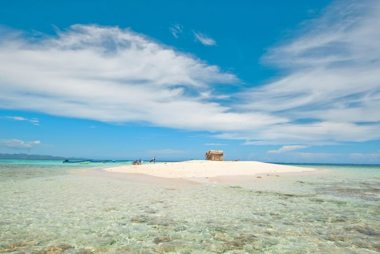 Strand Playa Punta Rucia in der Dominikanischen Republik