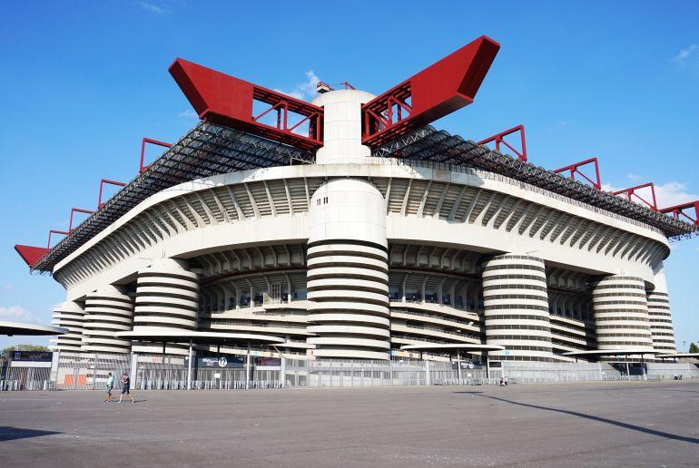 Fußball-Stadion San Siro in Mailand