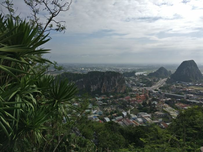Da Nang, Vietnam.  The marble mountains have ancient caves, temples and great views!