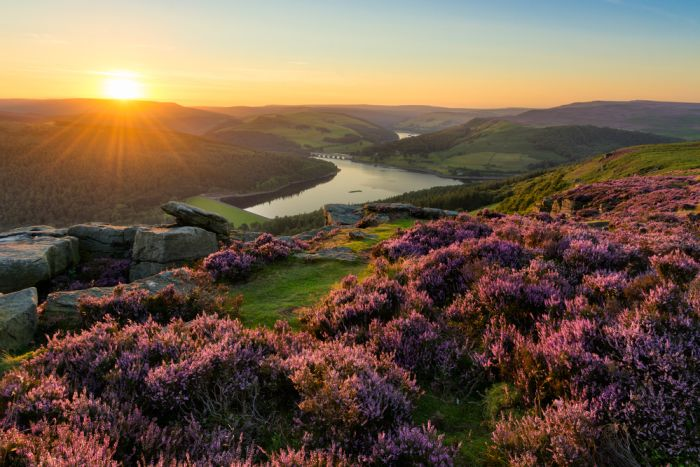 Sheffield, South Yorkshire. Take the tram to see Peace Gardens and drive up to the Peak District