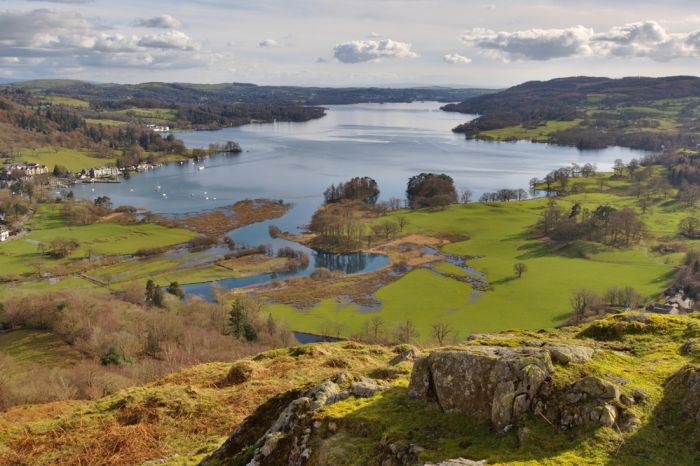"""Ambleside, Cumbria. First explore the """"cute town centre"""" and then the caves and castles"""