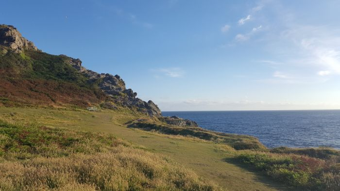 Guernsey, Channel Islands. Go for cliff top walks before hitting the spa and sauna