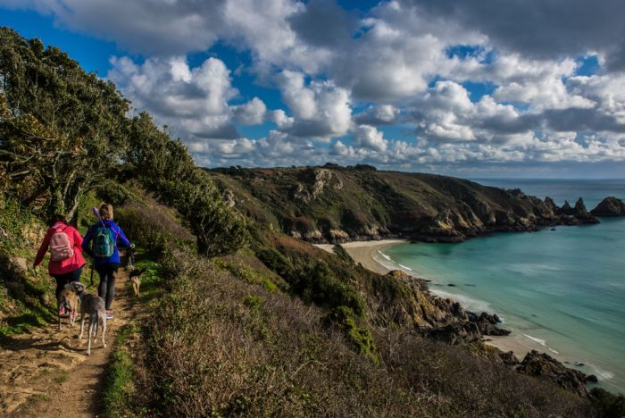 Guernsey, Channel Islands. Rent a car or pull on your walking shoes to explore the island's cliffs and beaches