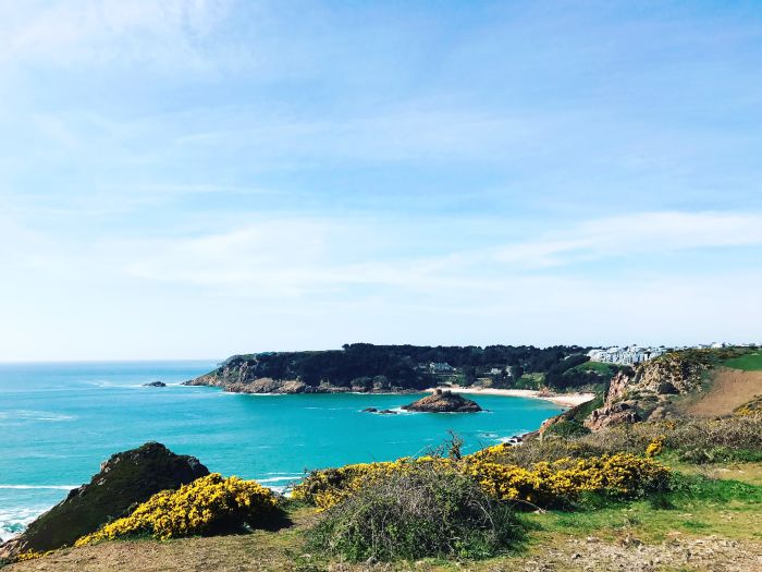 Herm, Channel Islands. Savour the local food and fresh air on coastal walks