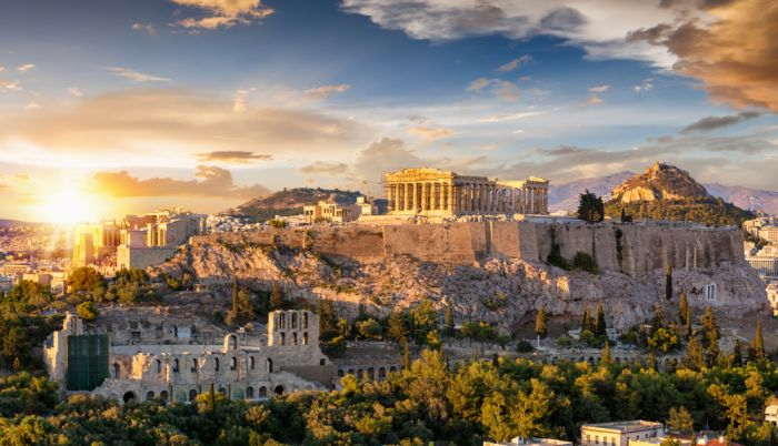Athens, Greece. Smooth travel, quick tests and a welcome with a smile