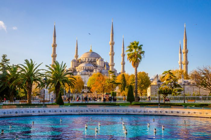 Istanbul, Turkey. Embrace the additional measures at the airport and you are safe