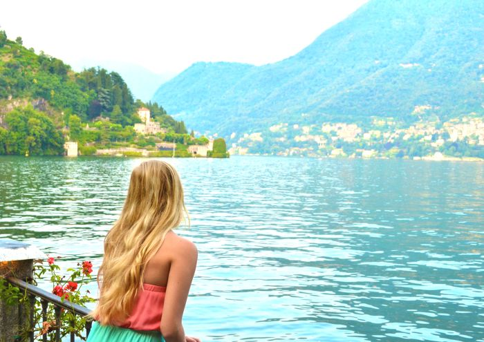 Como, Italy. No restrictions, travel comfortably and take in the beauty of Lake Como