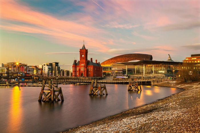 Cardiff, Wales. Attend a concert with your kids on a city break in Autumn