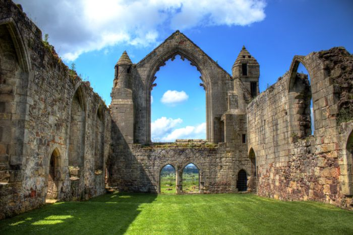 Telford, England. Take day trips to Shrewsbury, walk around and visit the Abbey