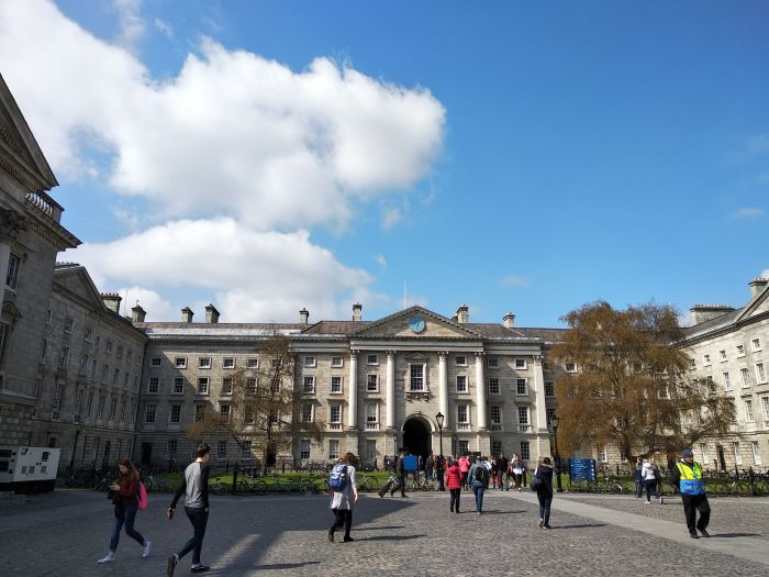 Dublin, Ireland. Explore Dublin Castle, previously a Danish Viking Fortress