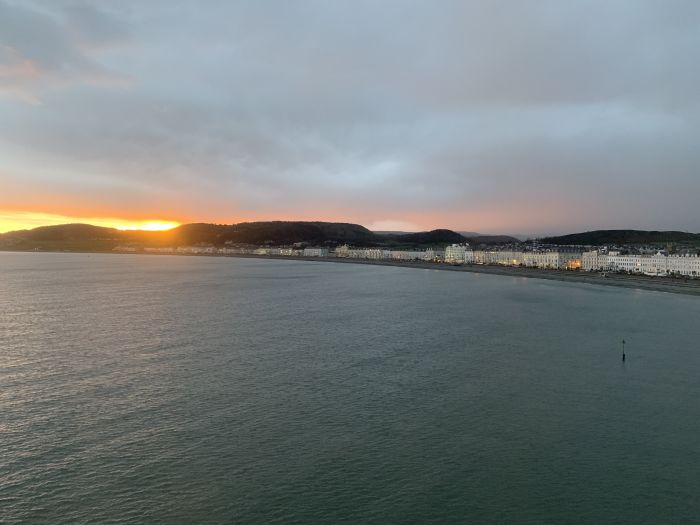 Llandudno, Wales. Catch a cable car up the Great Orme for panoramic views at sunset