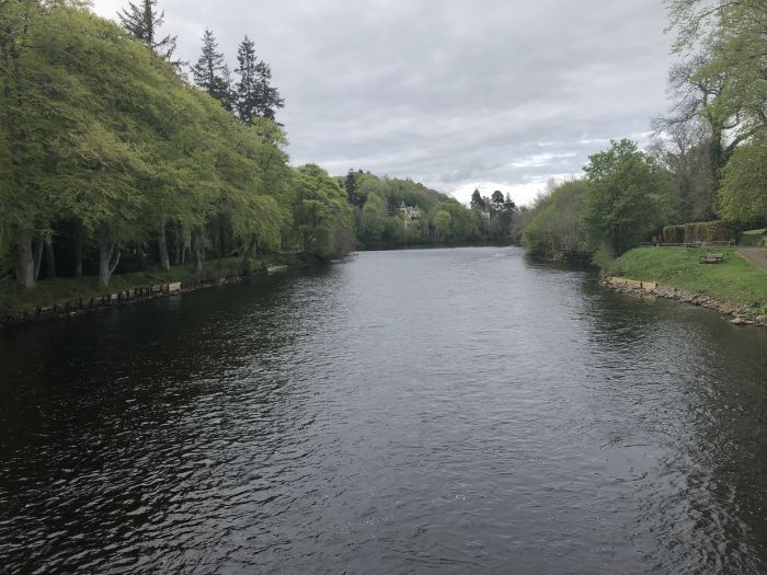 Inverness, Scotland. Ramble along the river, around town, and further afield to the Scottish Isles