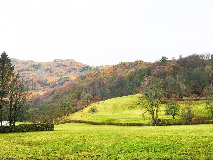 Windermere, England. Enjoy the autumnal hues on a walk around the lake