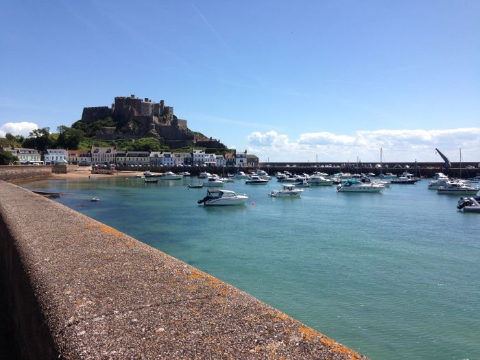 Jersey, Channel Islands. Swim, surf, or just chill out on sandy beaches