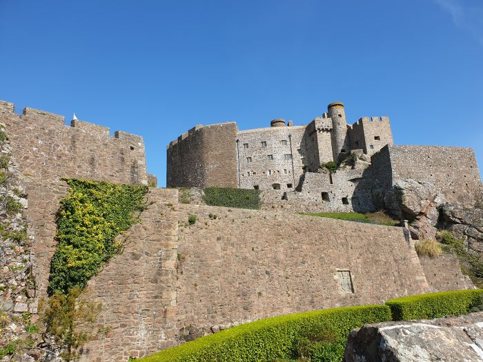 Jersey, Channel Islands. World War II fortifications, castles, lighthouses... full days guaranteed