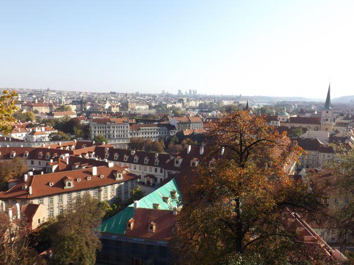 Prague, Czech Republic. Explore the city on foot for romantic autumn feels