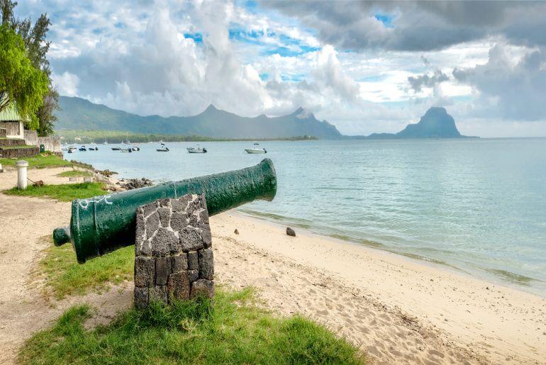 Strand La Preneuse Beach auf Mauritius