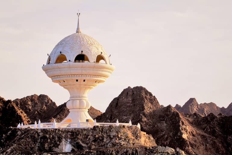 Gebäude im Oman