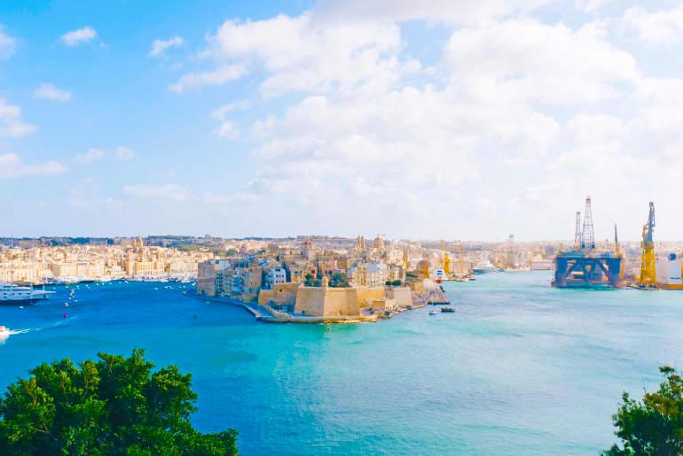 Hafen Malta