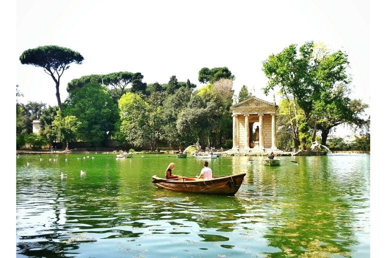 Garten in Rom