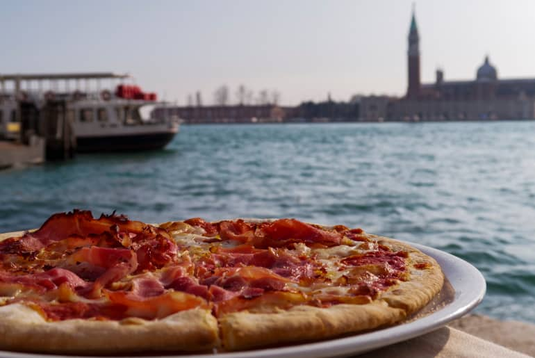 Pizzeria Sansovino Venedig
