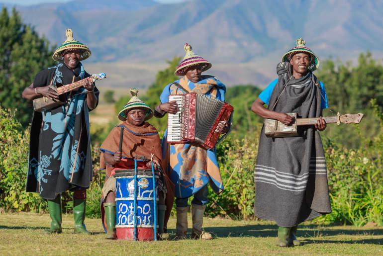 Südafrika Musik