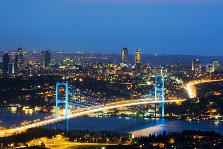 Bosperus, Istanbul, Türkei