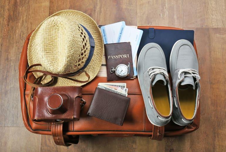 Packen für den Urlaub