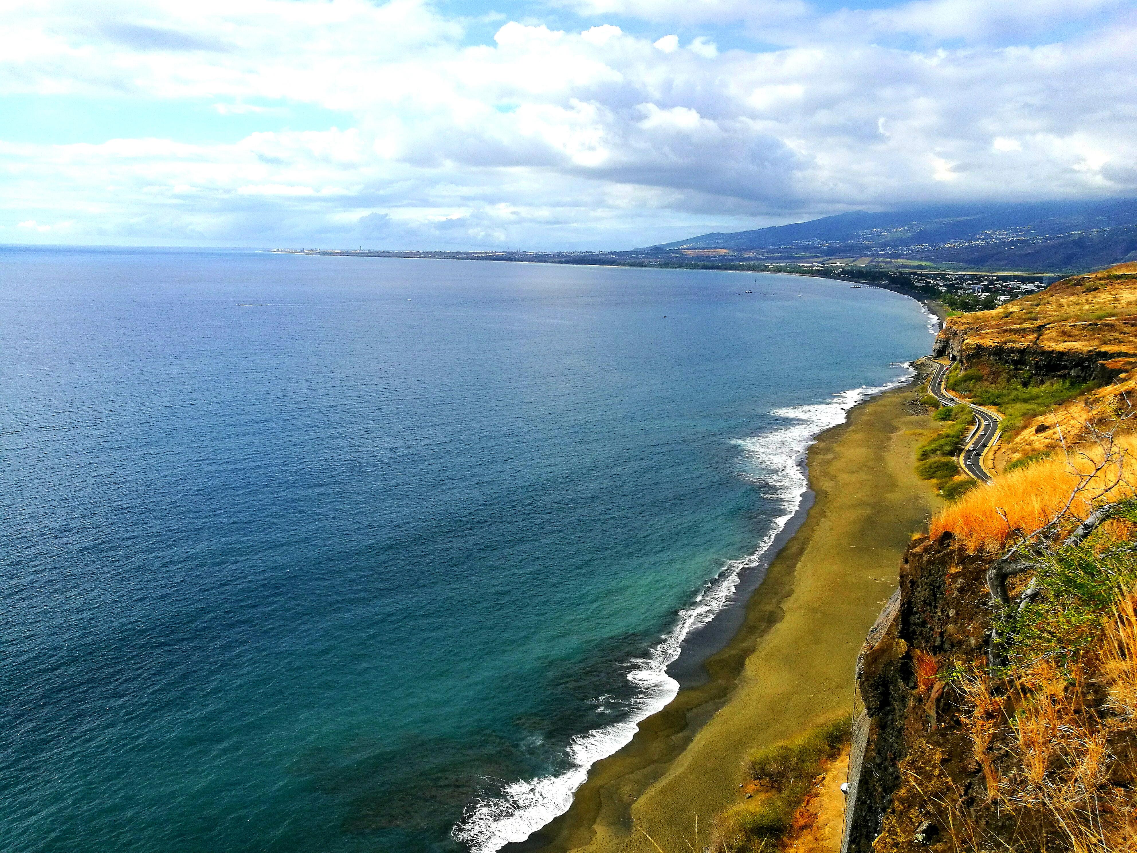 Küste von La Reunion
