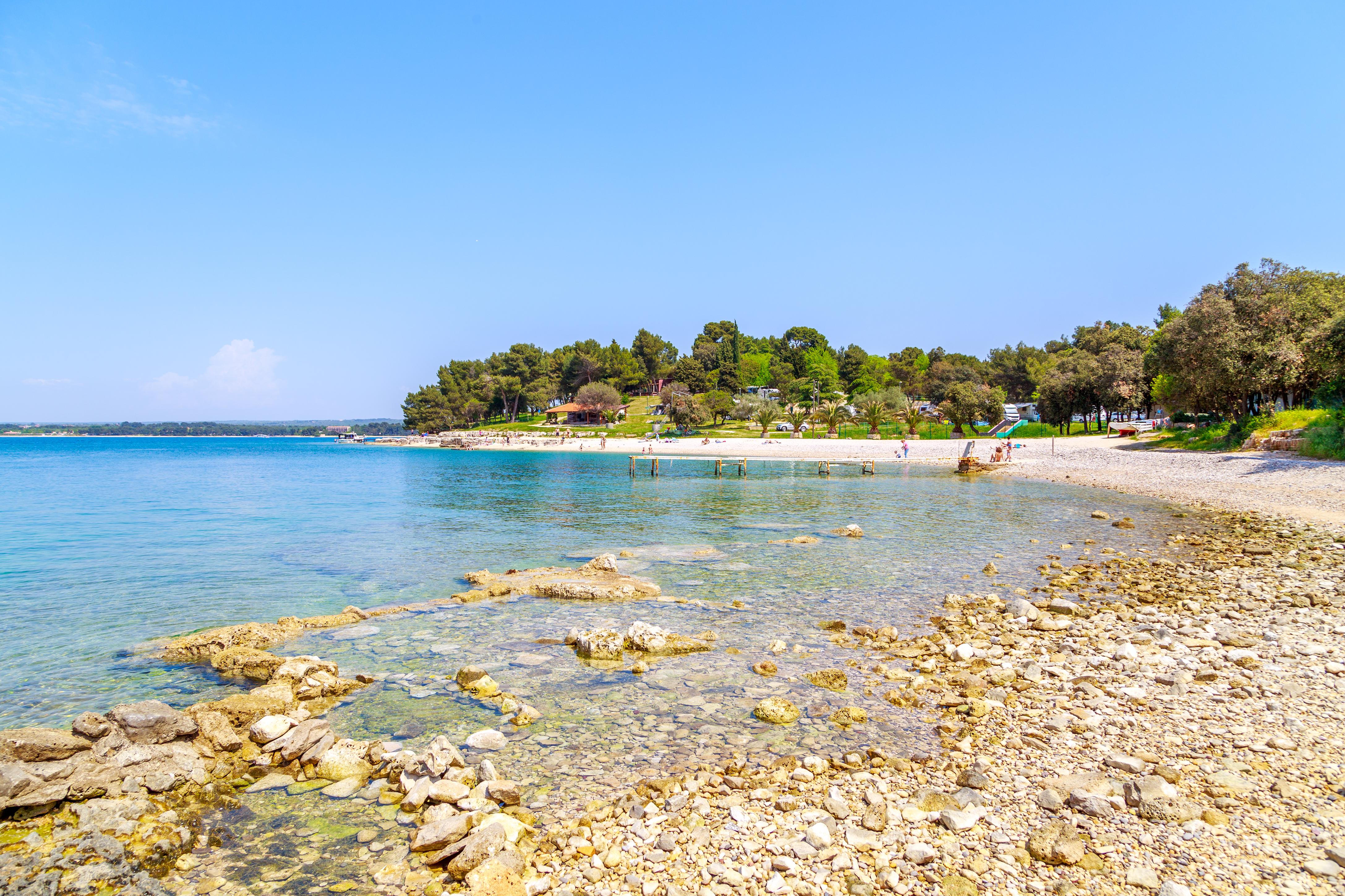 Strand bei Pula