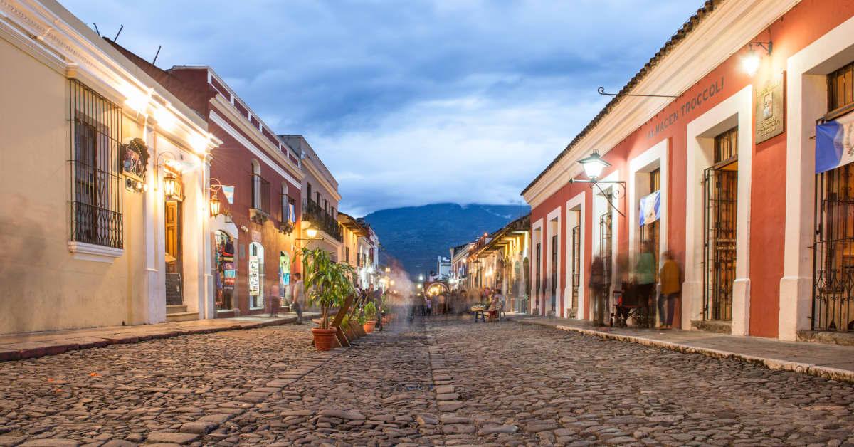 Madrid - Guatemala City