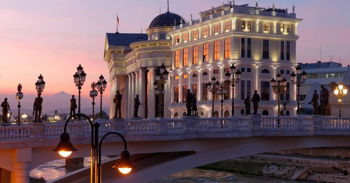 Oslo - Skopje
