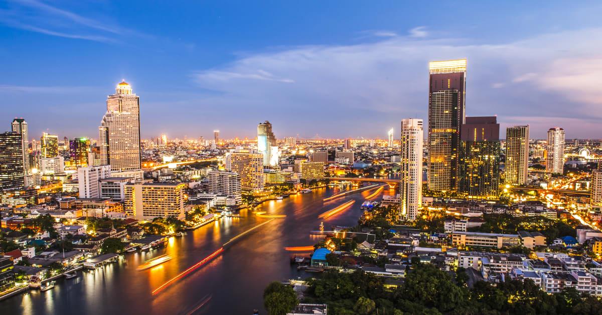 Hamburg - Bangkok