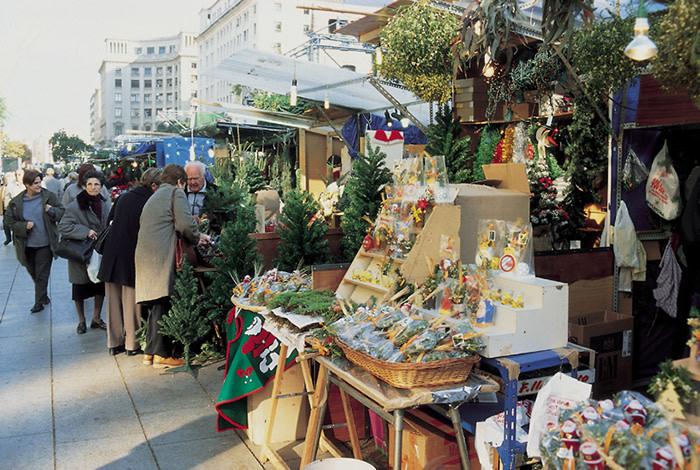 Barcelona: Mercadillo de Navidad
