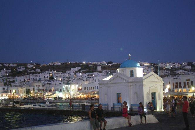Puerto Mikonos grecia